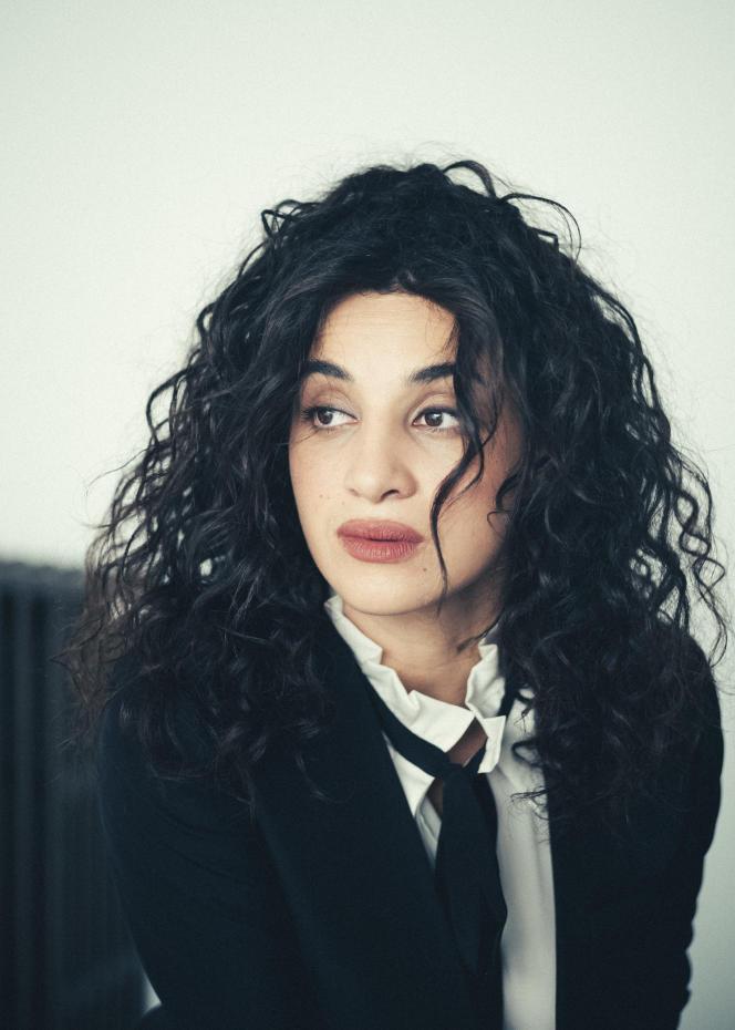 Camélia Jordana, à Paris, le 3 juillet.