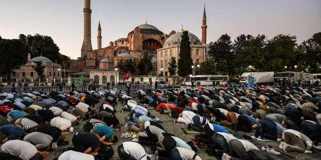 Erdogan ordonne la reconversion de Sainte-Sophie en mosquée