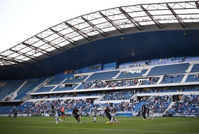 Le Havre rencontre le PSG, au stade Océane du Havre, le 12 juillet, pour lepremier match joué en Europe de l'Ouest devant un public depuis 4 mois.
