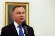 Andrzej Duda, à Varsovie, le 12 juillet 2020.