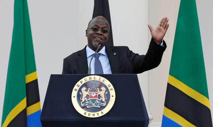 Le président tanzanien John Magufuli à Nairobi, au Kenya, le 31 octobre 2016.