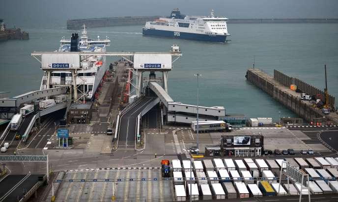 Le port de Douvres, au Royaume-Uni, le 12 juin.