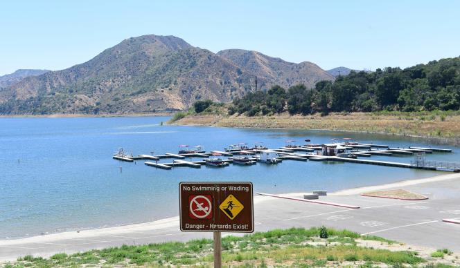 C'est dans le lac Piru, au nord de Los de Angeles (Californie) que le corps de Naya Rivera a été retrouvé, lundi 13 juillet.