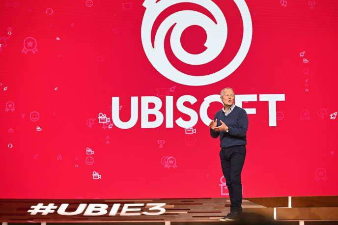 Le PDG d'Ubisoft, Yves Guillemot, à Los Angeles, en juin 2019.