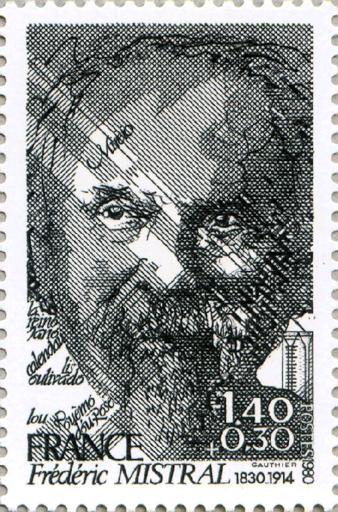 Jacques Gauthier, phénoménal graveur, auteur de ce portrait de Frédéric Mistral, dessiné et gravé en taille-douce.