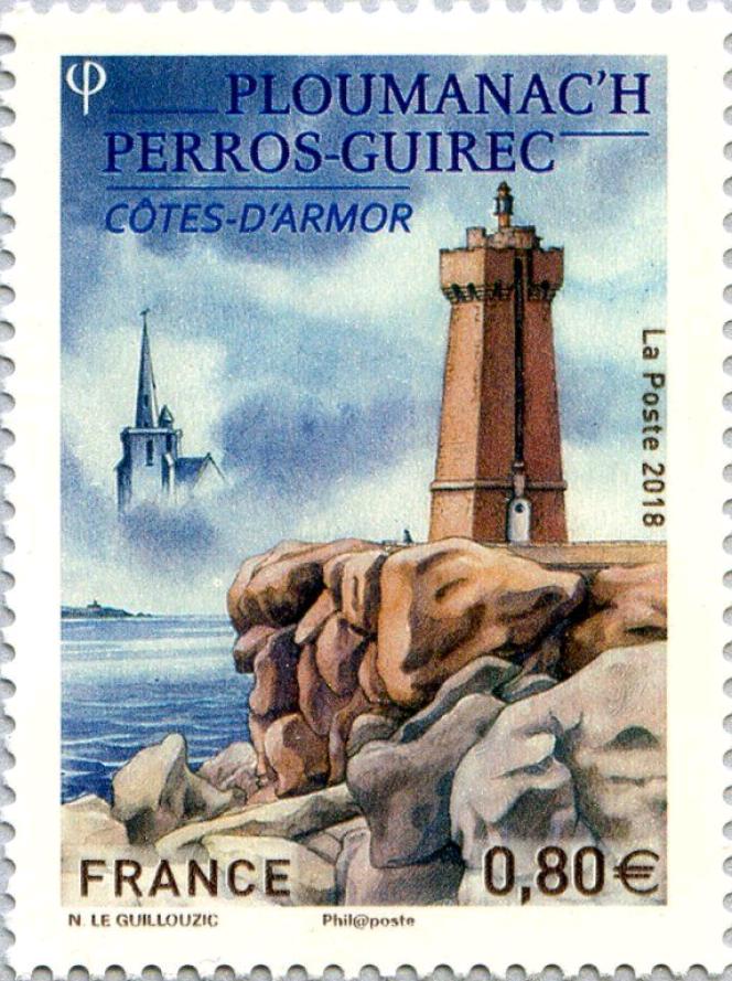 Perros-Guirec, vue par Noëlle Le Guillouzic (2018).