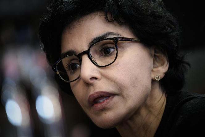 La maire Les Républicains du 7e arrondissement de Paris, Rachida Dati, à Paris, le 27 février 2020.
