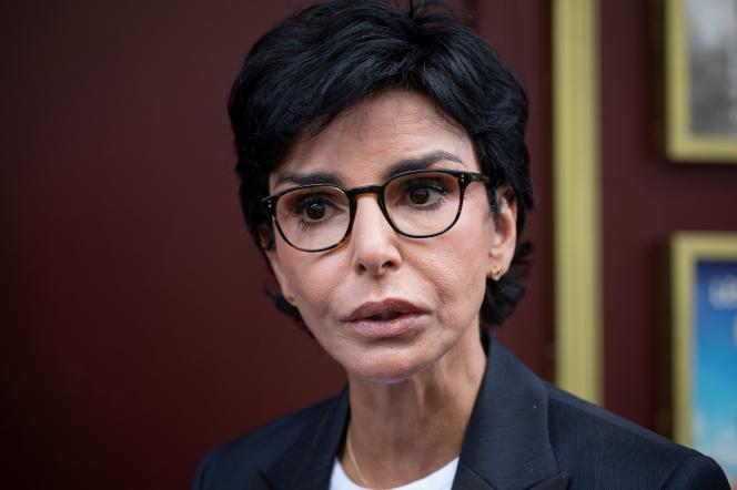 L'ex-garde des sceaux et maire (LR) du 7e arrondissement de Paris,Rachida Dati, le 3 juin 2020.