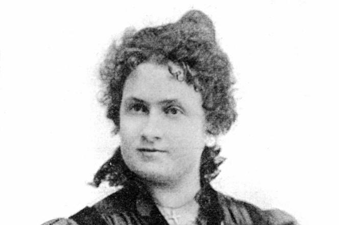 La docteure et pédagogue italienne Maria Montessori, en 1896.