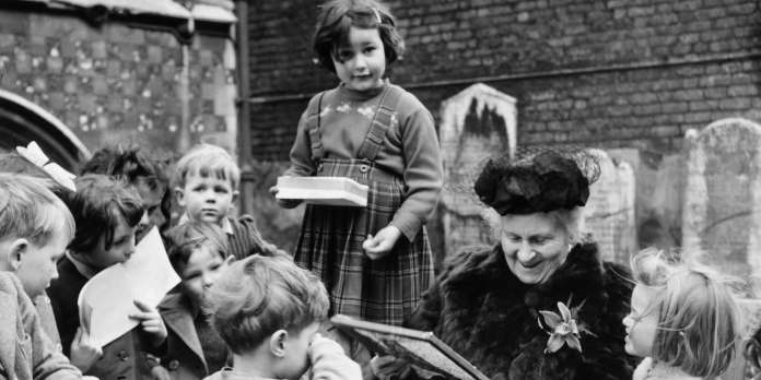Maria Montessori : la vieille dame et sa méthode