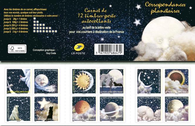 Original et poétique carnet signé Guy Coda, paru en 2016.