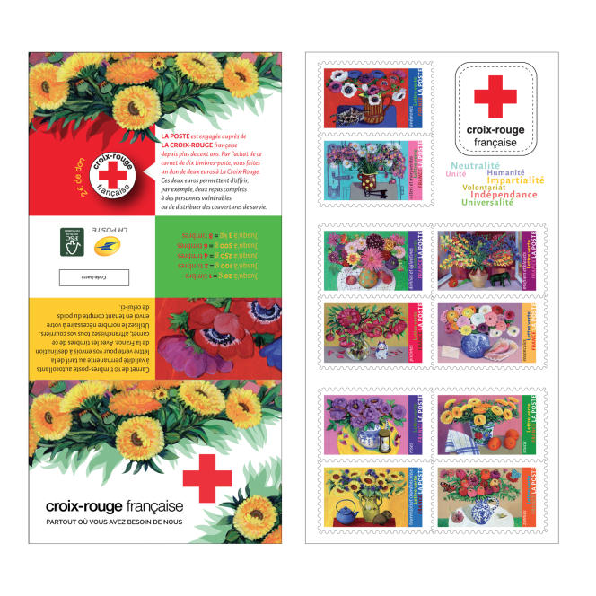 Carnet Croix-Rouge, création d'Isy Ochoa plébiscitée par Marie-Laure Drillet.