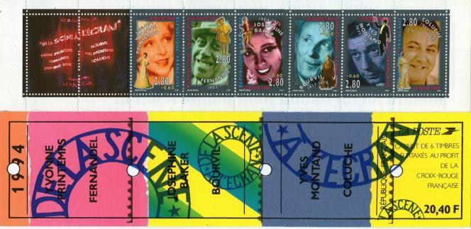 Carnet« De la scène à l'écran», par Mihe et Siran, en 1994.