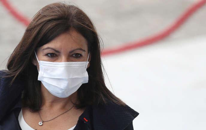 La maire de Paris, Anne Hidalgo, le 14 juillet 2020.