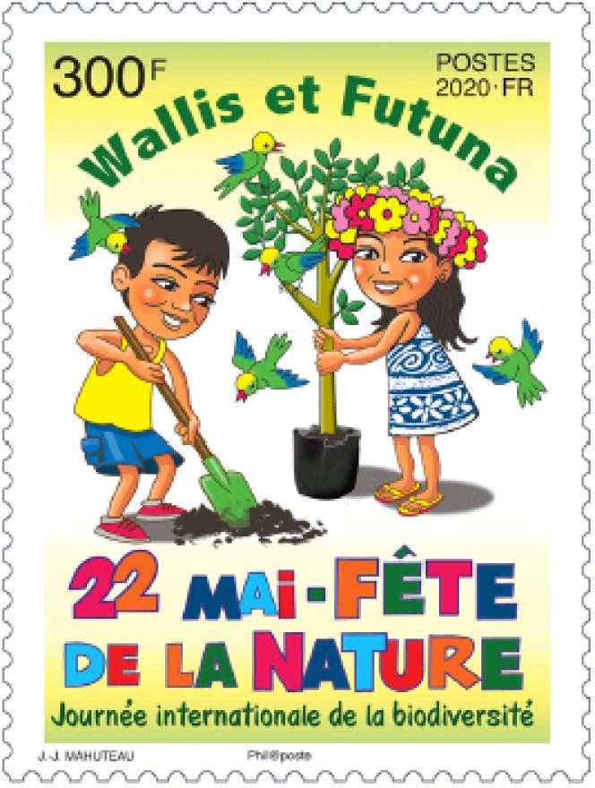 Timbre de Jean-Jacques Mahutea paru en 2020.