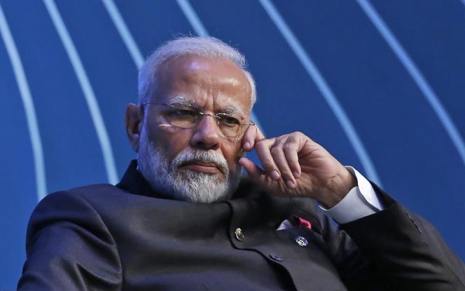 Le premier ministre indien,Narendra Modi, à Brasilia, en novembre 2019.