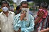 A Bangalore, le 9 juillet. Les habitants de la mégalopole seront confinés à partir du 14juillet au soir.