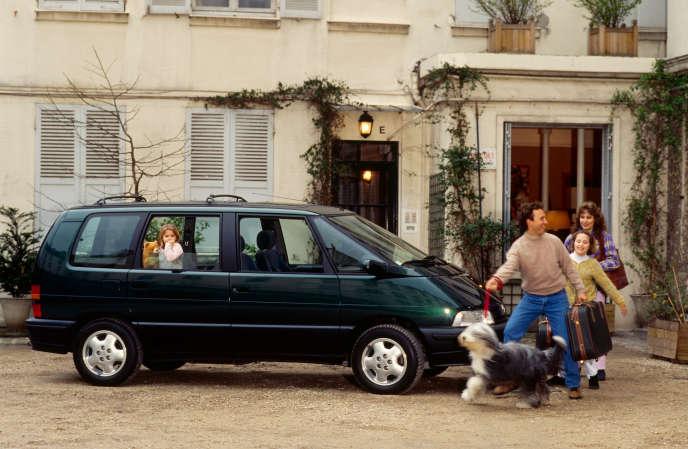 Renault Espace RXE V6 modèle 1994.