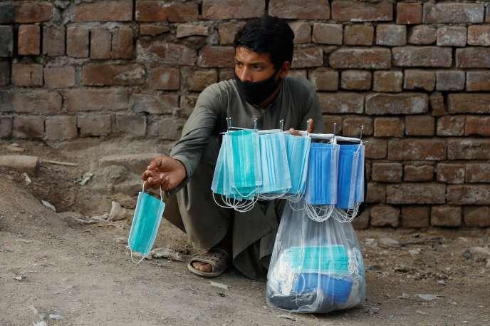 APeshawar, au Pakistan, le 15 juillet.