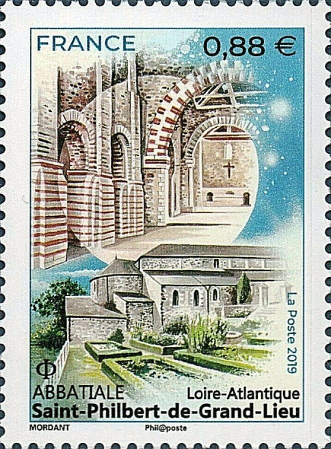 Abbatiale Saint-Philbert-de-Grand-Lieu, par Thierry Mordant (2019).