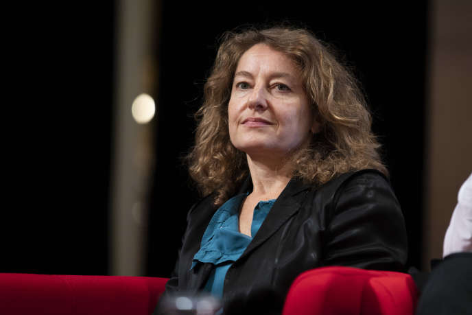Delphine Lévy lors d'une journée de rencontres culturelles à l'Hôtel de ville de Paris, en octobre 2018.