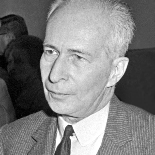 Le recteur Claude Franck, en 1967.