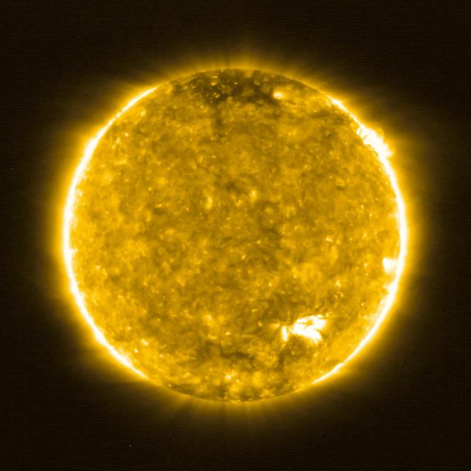 La sonde euro-américaine Solar Orbiter a livré les images les plus rapprochées jamais prises du Soleil,le 16 juillet.