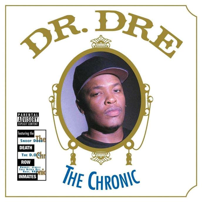 Pochette de l'album «The Chronic» (1992), de Dr. Dre.