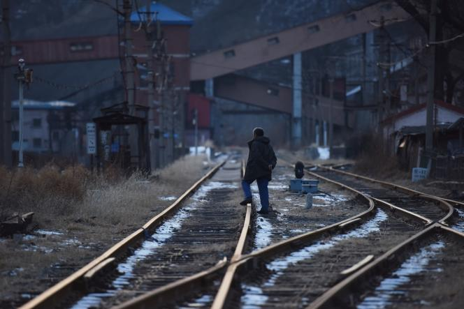 Une mine de charbon àMentougou, dans l'ouest de Pékin, en décembre 2019.