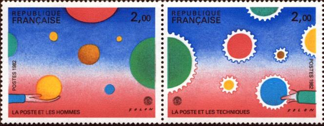 PhilexFrance 1982, par Folon.