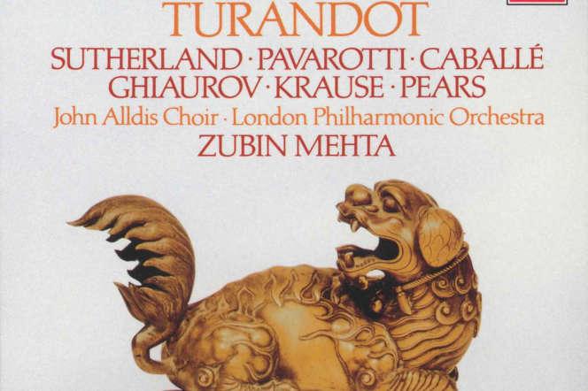 «Turandot», de Puccini, par le London Philharmonic Orchestradirigé par Zubin Mehta (1973).