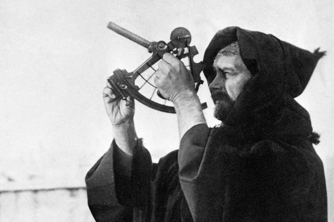 Photo non datée du père Charles de Foucauld, religieux français assassiné à Tamanrasset en Algérie, le 1er décembre 1916, béatifié en 2005 par le pape Benoît XVI.