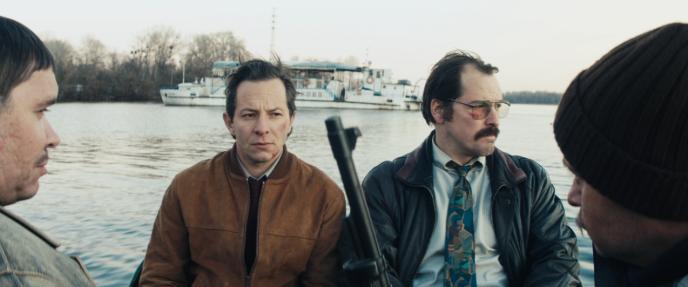 Deux flics que tout oppose : Patrick Stein (Trystan Pütter, à gauche) etMarkus Bach (Felix Kramer), dans« Lands of Murders » deChristian Alvart.