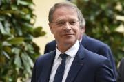 François Asselin, président de la Confédération générale des petites et moyennes entreprises, à Matignon, le 17 juillet 2020.