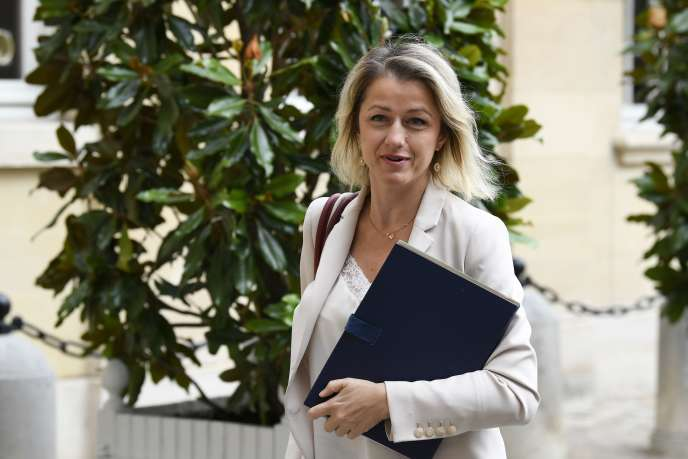 La ministre de l'environnement, Barbara Pompili, arrive à Matignon, à Paris, le 17 juillet.