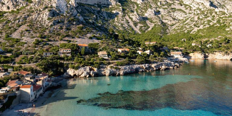 Calanque de Sormiou, Marseille, France, juillet 2020