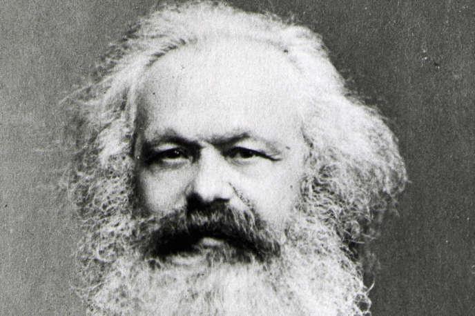 Portrait de Karl Marx, vers 1870 (1818-1883).