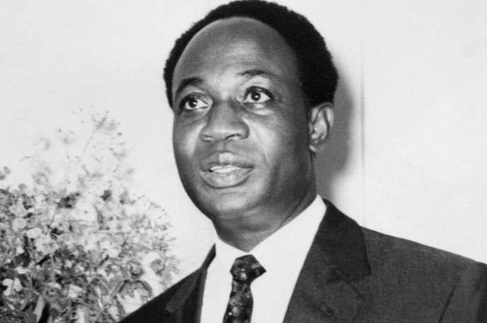 Photographie non datée de Kwame Nkrumah alors qu'il était premier ministre du Ghana avant que le pays n'obtienne son indépendance de la Grande-Bretagne, le 6mars 1957.