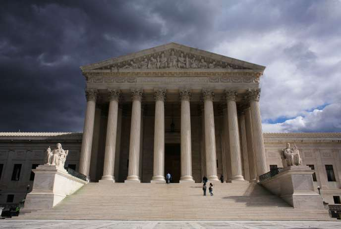 La Cour suprême des Etats-Unis, en 2006 à Washington.