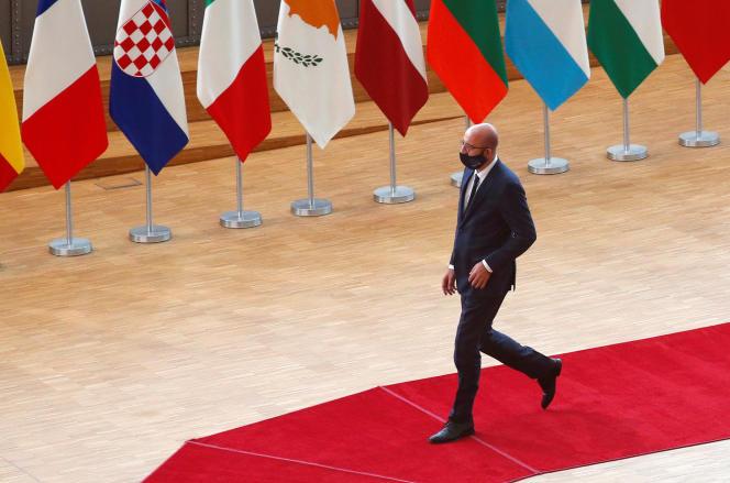 Le président du Conseil européen, Charles Michel, le 20 juillet.