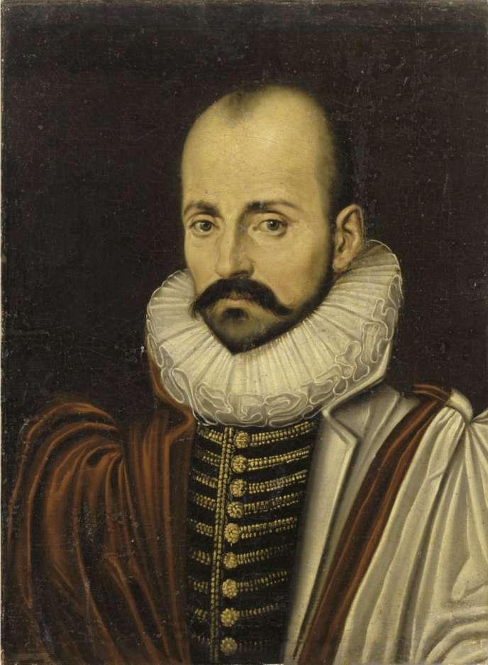 Montaigne, portrait anonyme, XVIe siècle.