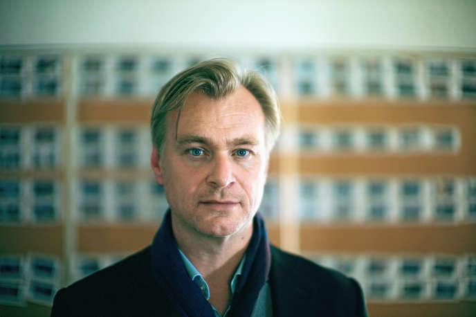 Christopher Nolan, photographié par son fils Oliver, chez lui à Los Angeles, en juillet.
