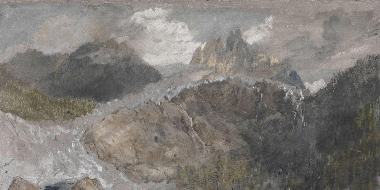 William Turner, premier de la glace au Montenvers