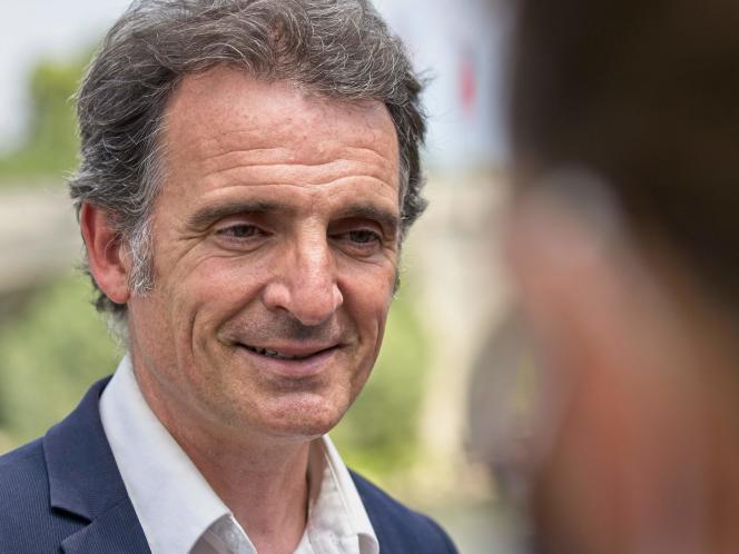 Le maire (Europe Ecologie-Les Verts) de Grenoble,Eric Piolle, le 21 juillet 2020.