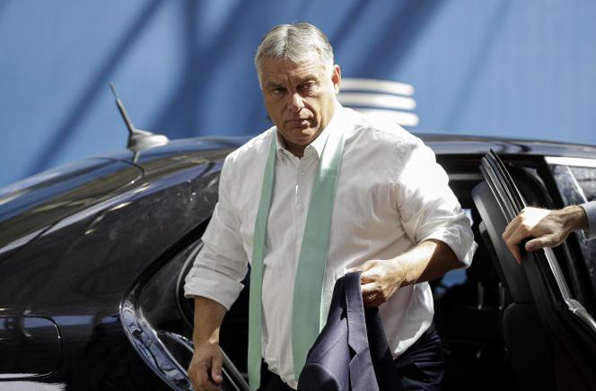 Le premier ministre hongrois, Viktor Orban, le 20 juillet à Bruxelles.
