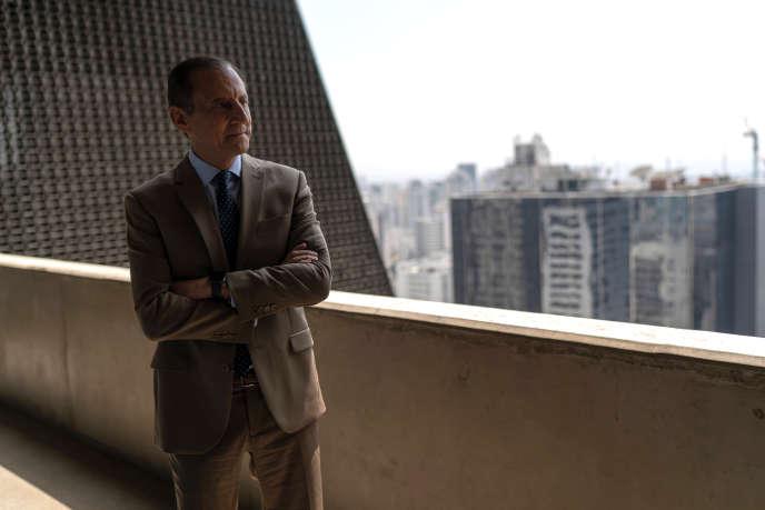 Paulo Skaf, président de la Fédération des industries de Sao Paulo,en mars à Sao Paulo.
