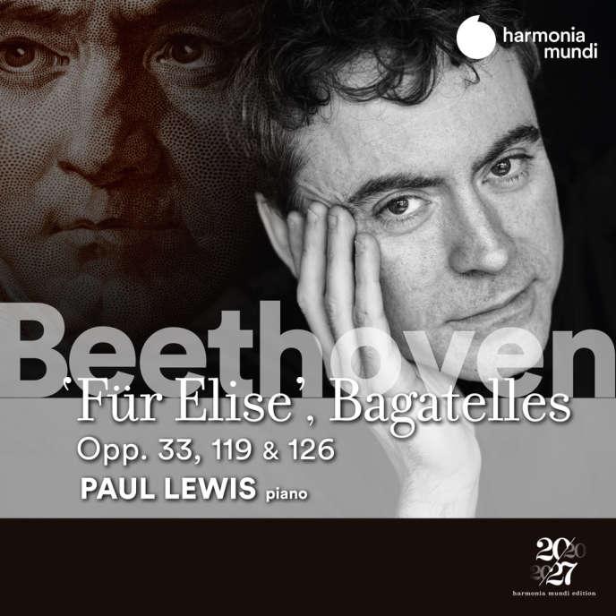 Pochette de l'album«Bagatelles», deBeethoven parPaul Lewis (piano).