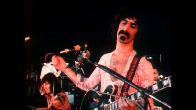 Frank Zappa en concert, au début années 1970.