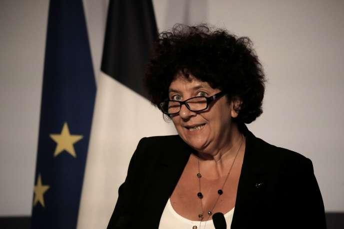 Frédérique Vidal, ministre l'enseignement supérieur, de la recherche et de l'innovation, à Paris, le 22 juillet 2020.