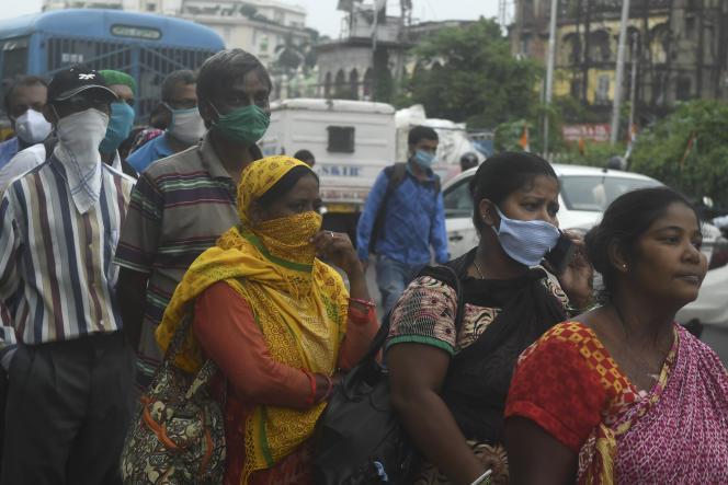 A Calcutta, en Inde, le 22 juillet.
